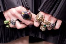 Gucci Jewelry / Lion head rings adorned with colorful crystals. Pendant necklaces that drop down the back. Consider them personal objets d'art—eclectic tokens that seem to be from a different time yet perfectly concur with today. / by gucci