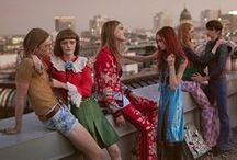 Spring Summer 2016 Campaign / Urban spaces of Berlin, from a rooftop to a warehouse club are the raw backdrop to the Spring Summer 2016 advertising campaign. Shot by Glen Luchford, the artistic and brutalist nature of this city contrasts against the dreamy romance of Alessandro Michele's collections. / by gucci
