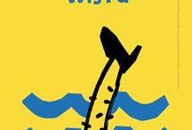 MYŚLĘ O WIŚLE / THINKING ABOUT THE VISTULA RIVER / 17. edycja konkursu Galerii Plakatu AMS, temat: promocja Wisły w 2017 roku – Roku Rzeki Wisły (2016) / 17th edition of the AMS Poster Gallery competition, theme: promotion of the Vistula in the year 2017 – the Year of the Vistula River (2016)