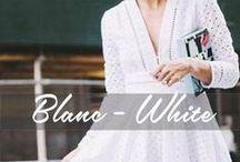 Blanc / White / Tendances Blanc