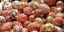 Easter in Romania / Easter in Romania, easter traditions, Easter eggs