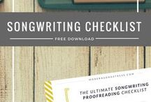 Learn | Songwriting / Tips on how to write the perfect songs