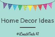 Home Decor Ideas / Wish list for decorative ideas! / by Jillian 'Campioni' Pearce