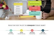 Inspirational Website Designs / Take a look at some of my favorite website designs!