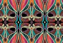 INSPIRED :: Patterns / Inspiration for patterns and textures for Graphic Design and Web Design and Brand Boards.
