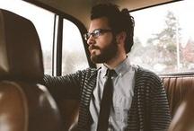 B E A R D S / men + beards + man bun = heart eyes / by Ashley Summerfield