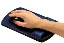 Wrist Rests / More than a mousepad, wrist rests keep your hands in the proper position and offer support for both mouse and keyboard. / by Fellowes, Inc.