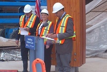 Surrey Memorial Hospital - Topping Off Event - Oct. 1, 2012