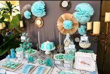 Party Ideas - Tiffany Blue