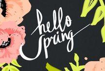 S P R I N G / fresh blooms and a fresh start / by Ashley Summerfield