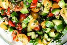SALAD! / Yummy Healthy Salads (and maybe some dressings too!)- Get more greens in your life!