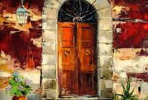 #Doors And Windows# / #entrance #vision #view # / by Kalpna Dave