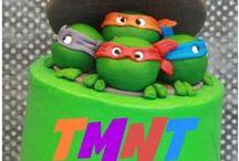 Ninja Turtle Birthday / by Gina Magdaleno