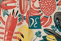 Kitchen linen / Tea towels, napkins, tablecloths and aprons. Kitchen linen from classic to quirky, I want it all!