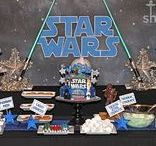 Party: Star Wars Party / Tons of Star Wars party ideas!  Lots of Star Wars birthday party decorations, food, and game ideas for the ultimate Star Wars fans!