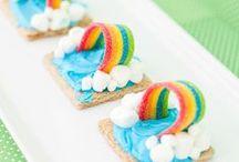 Holidays:  St. Patrick's Day / St. Patricks' Day crafts, rainbow desserts, shamrock crafts, St. Patrick's Day party ideas, leprechaun trap project ideas, green food ideas, St. Patrick's Day recipes, and more to celebrate St. Patrick's Day.