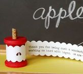 DIY:  Teacher Gifts / Creative teacher gift ideas that you can make yourself.
