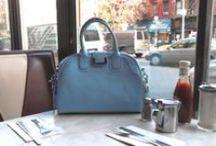 Favorite Places & Spaces / New York - the big apple.  Love it! www.glasshandbag.com