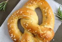 Food: Bread Recipes / Get the best homemade rolls recipe, sweet bread recipe, homemade pretzels recipe, muffin recipes, cinnamon rolls, and more!