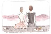 Love illustration / by Lisette Valdivia