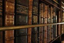 """Shelf-Awareness / """"Fonder des bibliothèques, c'était encore construire des greniers publics, amasser des réserves contre un hiver de l'esprit qu'à certains signes, malgré moi, je vois venir"""" - Mémoires d'Hadrien. / by Silvia De Vecchi"""