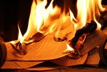 Fahrenheit 451 / Book lovers, should there be no more ink and paper, no more e-readers, no more clouds, what books would you be ready to memorize in order to save it from oblivion ? You can pick any book, any genre you like. There is only one rule: you are supposed to have actually read the books you add to this board.