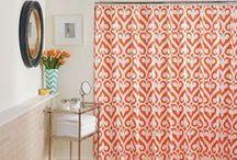 Jill's Bathroom Accessories / Jill Rosenwald Shower Curtains coming soon!