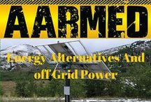 Energy Alternatives And off Grid Power / Relying on our governments and big business to always provide our homes with power especially in the event of an emergency is foolhardy. This board looks into the different sources of energy that you can purchase or even build to protect your home and family if the lights go out.
