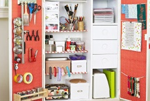 Organize Craft Supplies / Looking to better organize your craft room?  If so, here are some fun craft organizer tips and ideas to help inspire you.