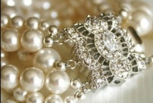 lace & robbon & pearls