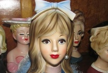 Lady Head Vases & Vintage Collectibles