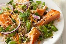 Salads / Crunch into one of our favorite salad recipes! Chock full of greens, fresh fruit, crisp veggies, succulent meats and more, these salads are sure to deliver a healthy, full meal deal. / by Key Ingredient Recipes