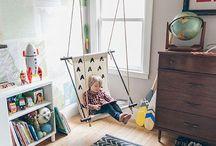 nursery & kids rooms / by Ashley Woodruff