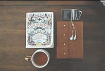 Sundays at the Cafe / The elements for a perfect Sunday morning: coffee and a good book.  / by PicsArt Photo Studio