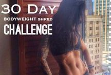 Betty Rocker 30-Day Challenge / Take the 30-Day Bodyweight Shred Challenge!! Create YOUR Healthy Lifestyle of Awesome with Betty Rocker! FOLLOW this board. START with the START HERE Pin. Check the Board Daily for Workouts, Recipes, Health Tips and Motivation! SHARE with your Friends so they can take the Challenge too!