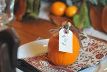 fall holidays ● ›› / Fall Holiday Inspiration including Halloween and Thanksgiving.