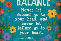 A Question of Balance / The importance of maintaining balance in life. Underrated yet essential for wellness.