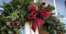 Exterior Home Decor Ideas / Quick and affordable ways to dress up your front door and planters to usher in a new season.