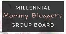 Millennial Mommy Bloggers Group Board / A group board for millennial mommy bloggers sharing insights on topics like: product reviews, blogging tips, work-life balance, relationship advice, new mom tips, recipes and all things motherhood! Apply to join our group by following this URL: https://goo.gl/forms/2RAsnU6wo3oNiK7I3