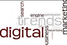 Digital Marketing / Social Media, SEO, Mobile, Digital Marketing Trends. / by Alexa O.