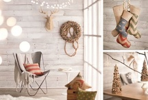 'Tis the Season / Deck the halls with holiday essentials. Welcome family and friends to a festive home with all the trimmings, including trees, wreaths, stockings, and more. / by the Foundary