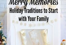 HOMEMADE HOLIDAYS / Celebrate the holidays with your family! All things homemade to make the Christmas season extra special. Recipes, crafts, activities, decor.