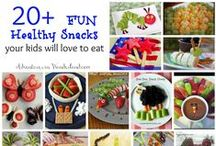 FUN FOODS FOR KIDS / Fun foods, themed foods, party food ideas, kids food and snacks