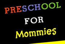 HOMESCHOOL RESOURCES / Ideas for curriculum, organization, and management - homeschool resources for toddlers, preschool, elementary school.