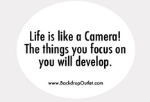 Photography Quotes / by BACKDROP OUTLET