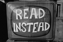 Turn off the TV... / ...and read a book. Here are some books that were so good they've been adapted for the TV.