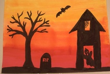 halloween kids crafts / by Kelly Fouhey