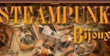 Steampunk Bijoux / Steampunk Tendences  http://blog.loopneo.com/category/steampunk-bijoux/