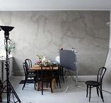 WORKSPACE / Workspace and studio. A creative place  for a photographer