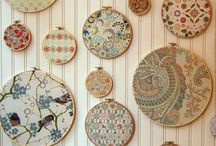 FABRIC / Fabric for sewing, interior design, and crafts.  / by Elizabeth Maines
